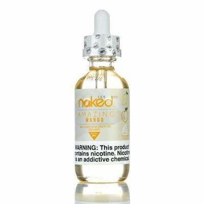ЖИДКОСТЬ NAKED: AMAZING MANGO ICE 60ML