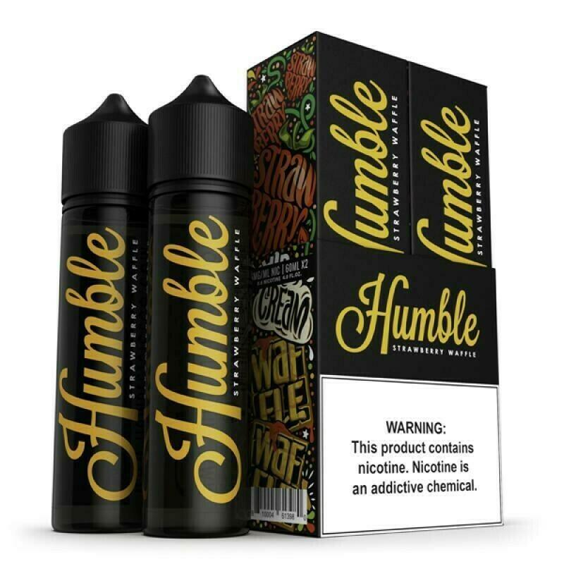 ЖИДКОСТЬ HUMBLE: STRAWBERRY WAFFLE 60ML