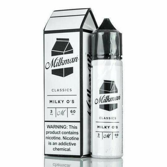 ЖИДКОСТЬ THE MILKMAN E-LIQUID: MILKY O'S 60ML