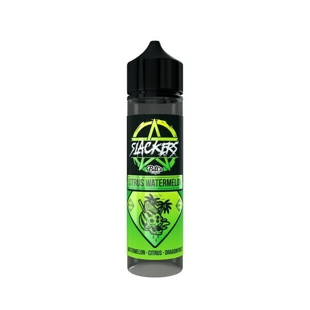 SLACKERS BY BILL'S E-lIQUID: CITRUS WATERMELON 60ML