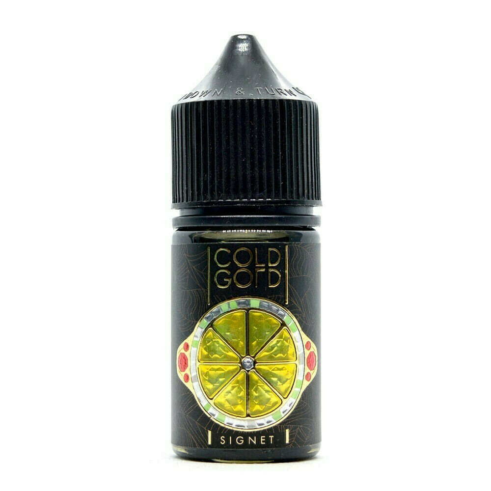 COLD GOLD SALT BY ДЯДЯ ВОВА: SIGNET 30ML