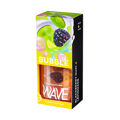 ЖИДКОСТЬ SMOKE KITCHEN WAVE: BUBBLE WAVE 100ML