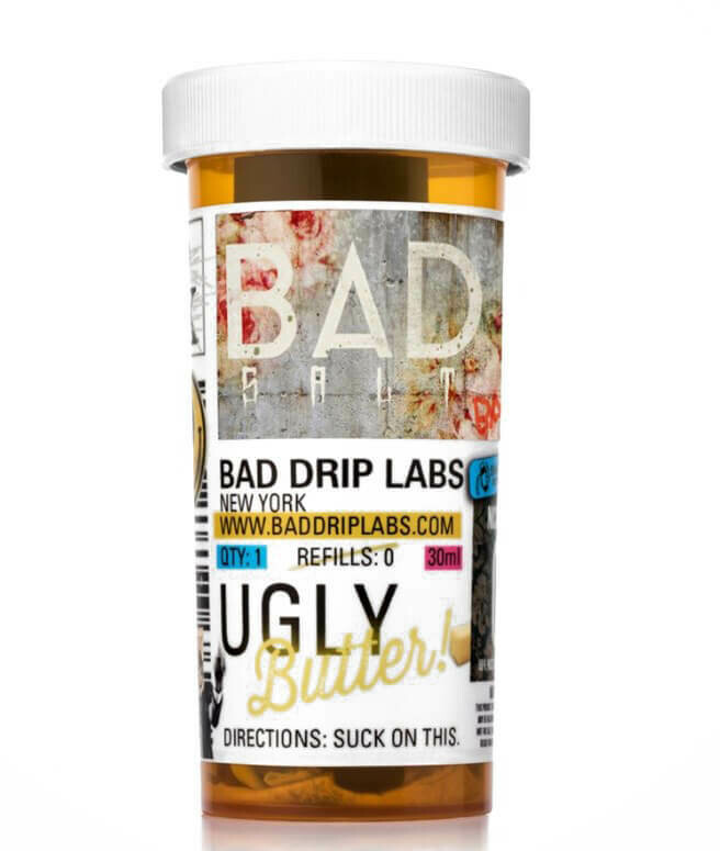 ЖИДКОСТЬ BAD DRIP SALTS: UGLY BUTTER   30ML