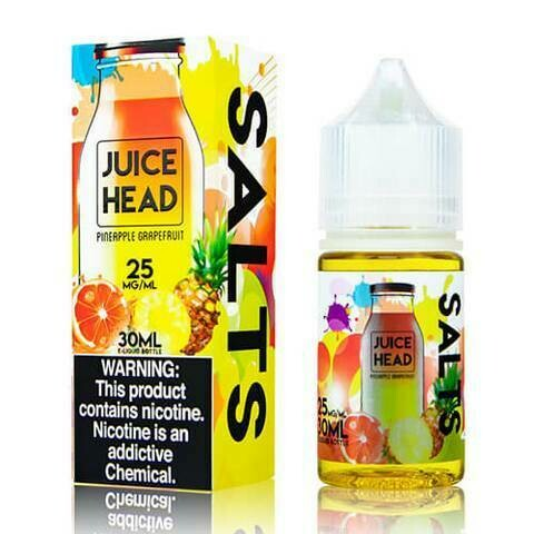 ЖИДКОСТЬ JUICE HEAD SALT: PINEAPPLE GRAPEFRUIT 30ML
