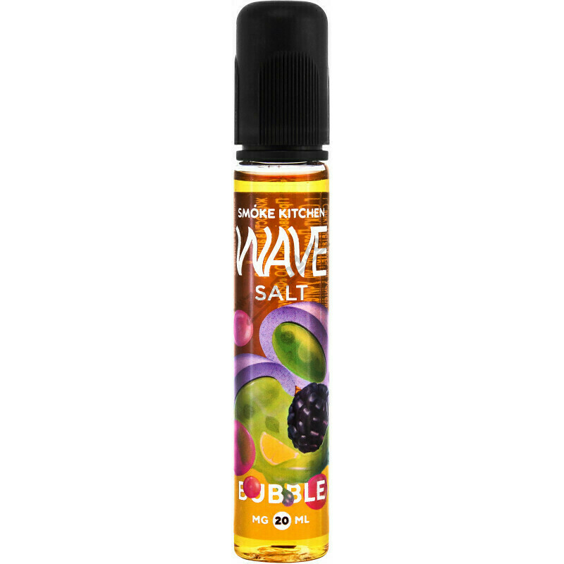 ЖИДКОСТЬ WAVE SALT BY SMOKE KITCHEN: BUBBLE 30ML