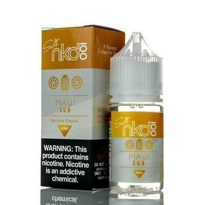 ЖИДКОСТЬ NAKED SALT: MAUI SUN 30ML