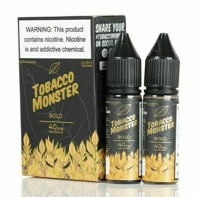 TOBACCO MONSTER SALT: BOLD 15ML
