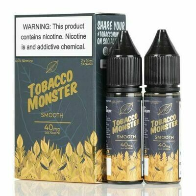 TOBACCO MONSTER SALT: SMOOTH 15ML