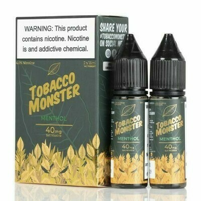 TOBACCO MONSTER SALT: MENTHOL 15ML