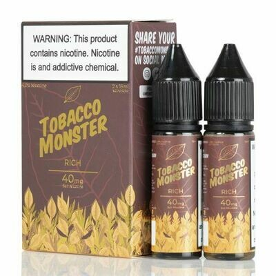 TOBACCO MONSTER SALT: RICH 15ML