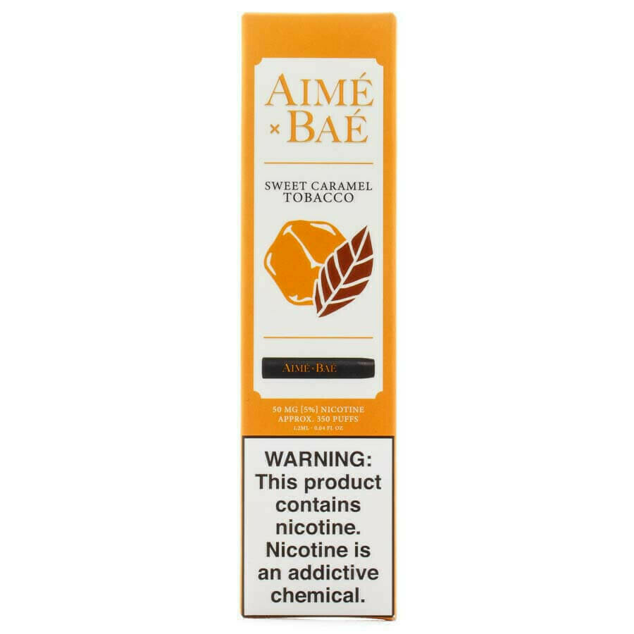 AIME X BAE DISPOSABLE POD: SWEET CARAMEL TOBACCO