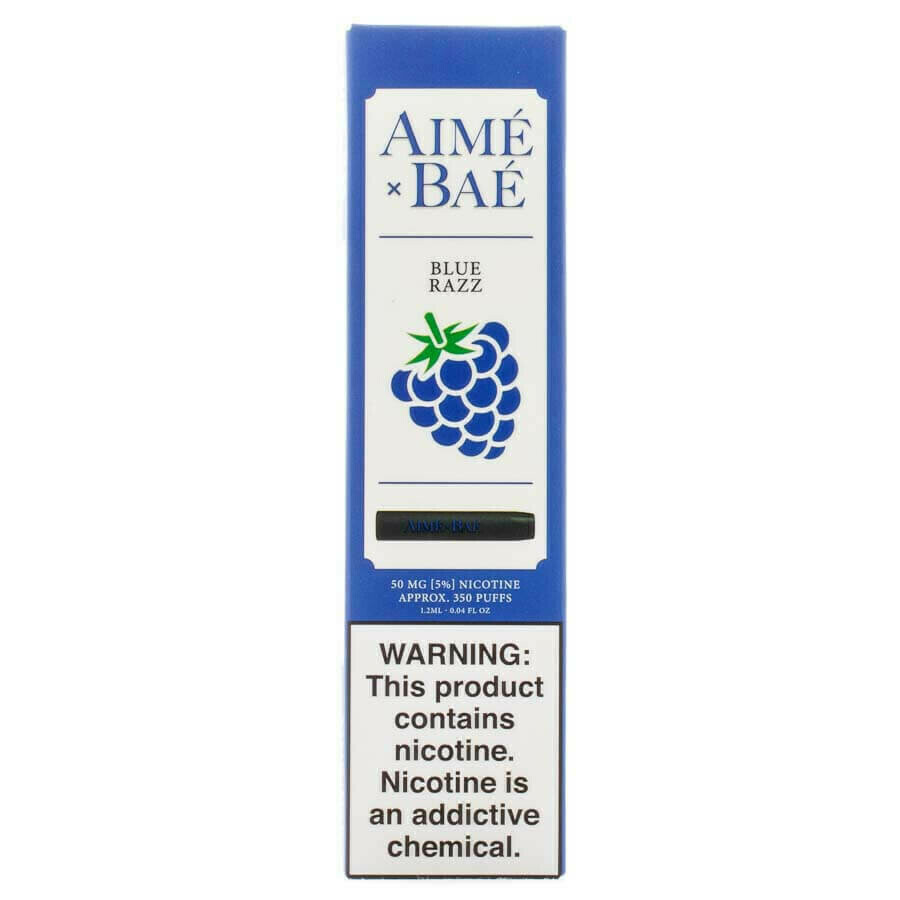 AIME X BAE DISPOSABLE POD: BLUE RAZZ