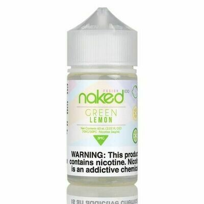 ЖИДКОСТЬ NAKED: GREEN LEMON 60ML
