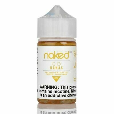ЖИДКОСТЬ NAKED: GO NANAS 60ML
