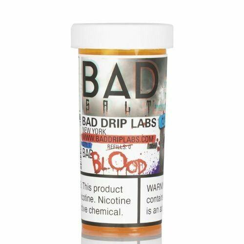 ЖИДКОСТЬ BAD DRIP SALTS: BAD BLOOD 30ML