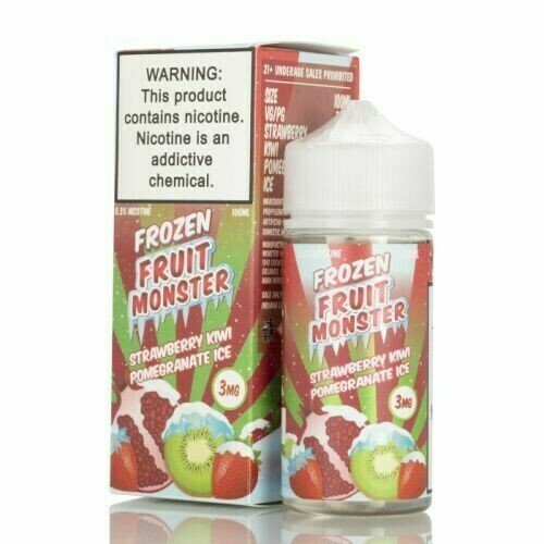 FROZEN FRUIT MONSTER: STRAWBERRY KIWI POMEGRANATE 100ML