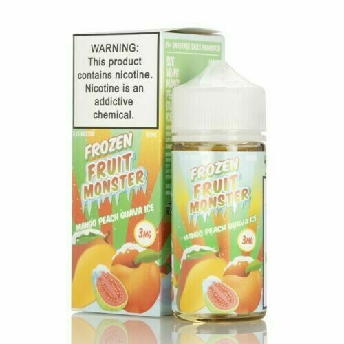FROZEN FRUIT MONSTER: MANGO PEACH GUAVA 100ML