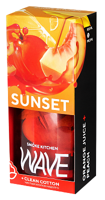 ЖИДКОСТЬ SMOKE KITCHEN WAVE: SUNSET WAVE 100ML