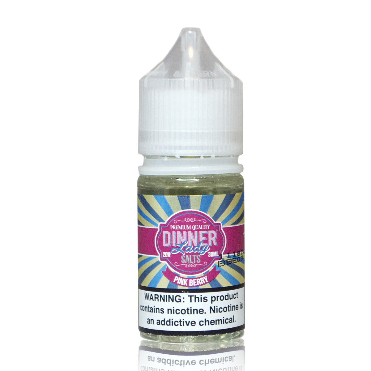 ЖИДКОСТЬ DINNER LADY FRUITS SALT: PINK BERRY 30ML