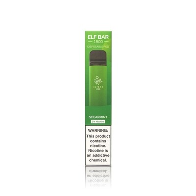 ELF BAR 1500: SPEARMINT