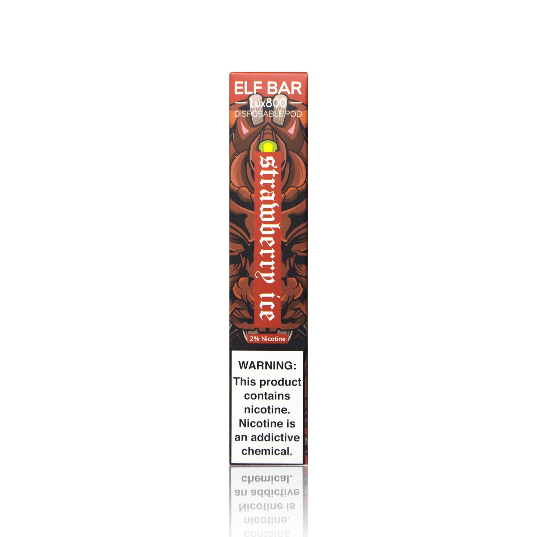 ELF BAR 800 LUX EDITION: STRAWBERRY ICE