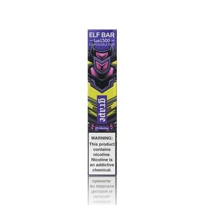 ELF BAR 1500 LUX EDITION: GRAPE