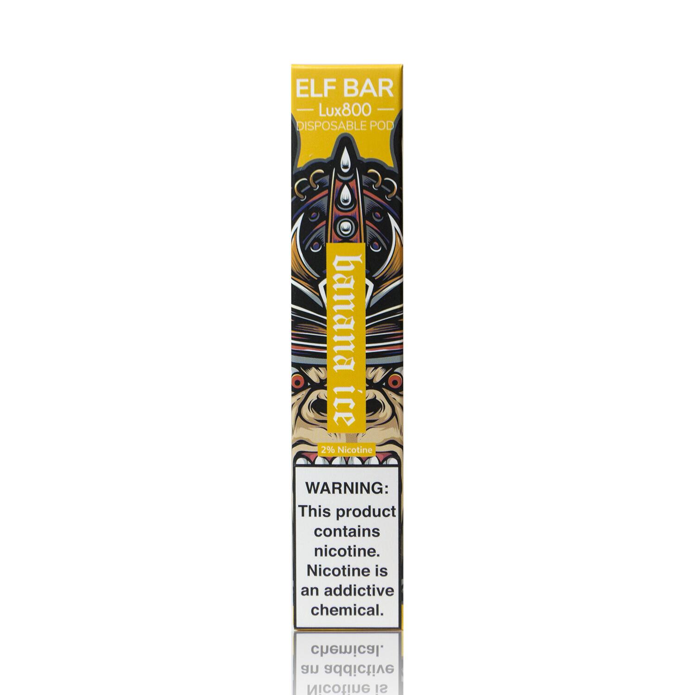 ELF BAR 800 LUX EDITION: BANANA ICE