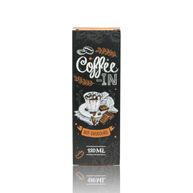 ЖИДКОСТЬ COFFE-IN: HOT CHOCOLATE 120ML