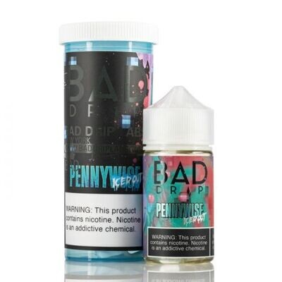 ЖИДКОСТЬ BAD DRIP: PENNYWISE ICED OUT 60ML