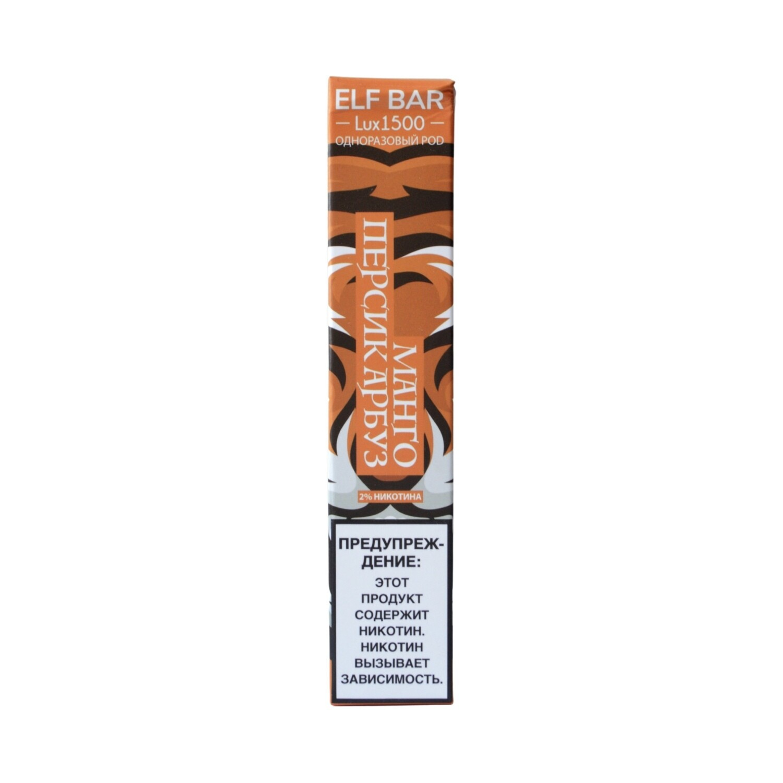 ELF BAR 1500 LUX EDITION: MANGO PEACH WATERMELON