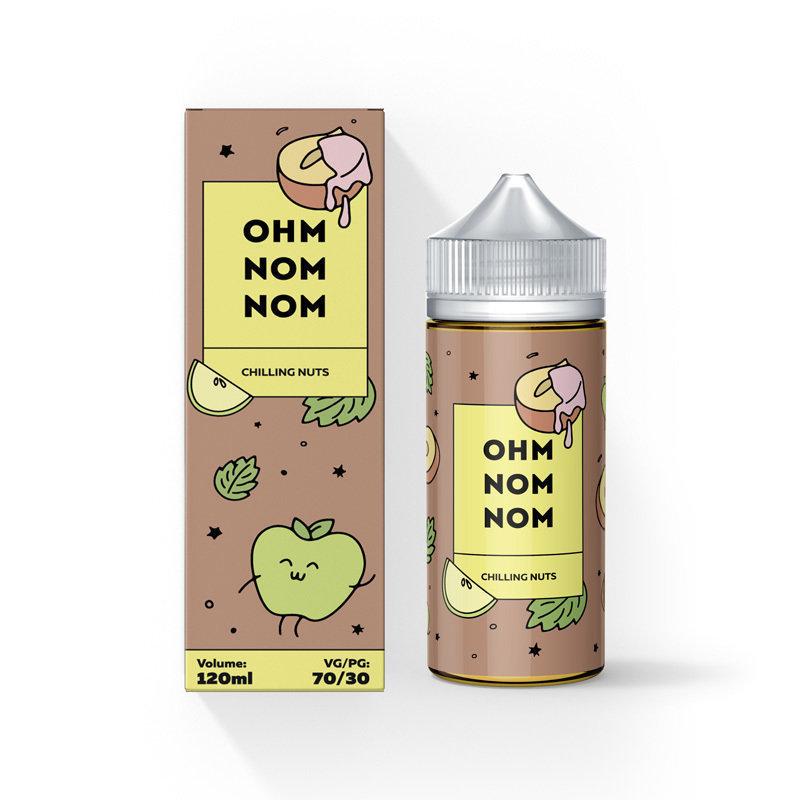 OHM NOM NOM: CHILLING NUTS 120ML