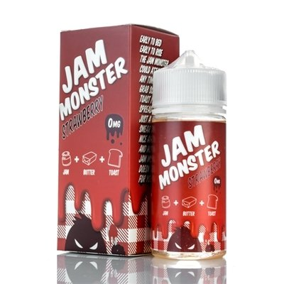 JAM MONSTER: STRAWBERRY 100ML