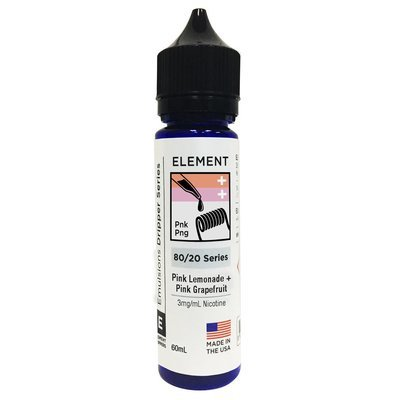 ЖИДКОСТЬ ELEMENT EMULSIONS: PINK GRAPEFRUIT + PINK LEMONADE 60ML