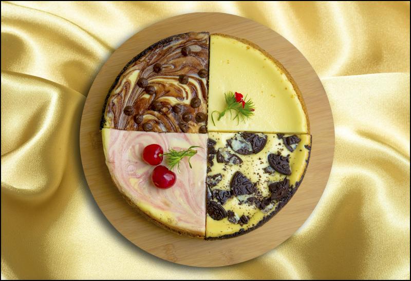Four-Way Cheesecake Sampler
