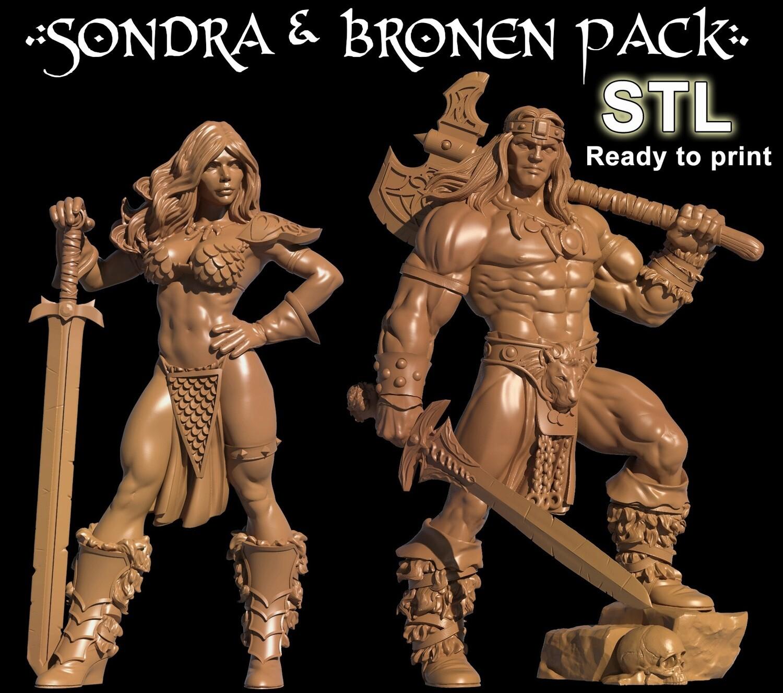 BRONEN & SONDRA PACK STL