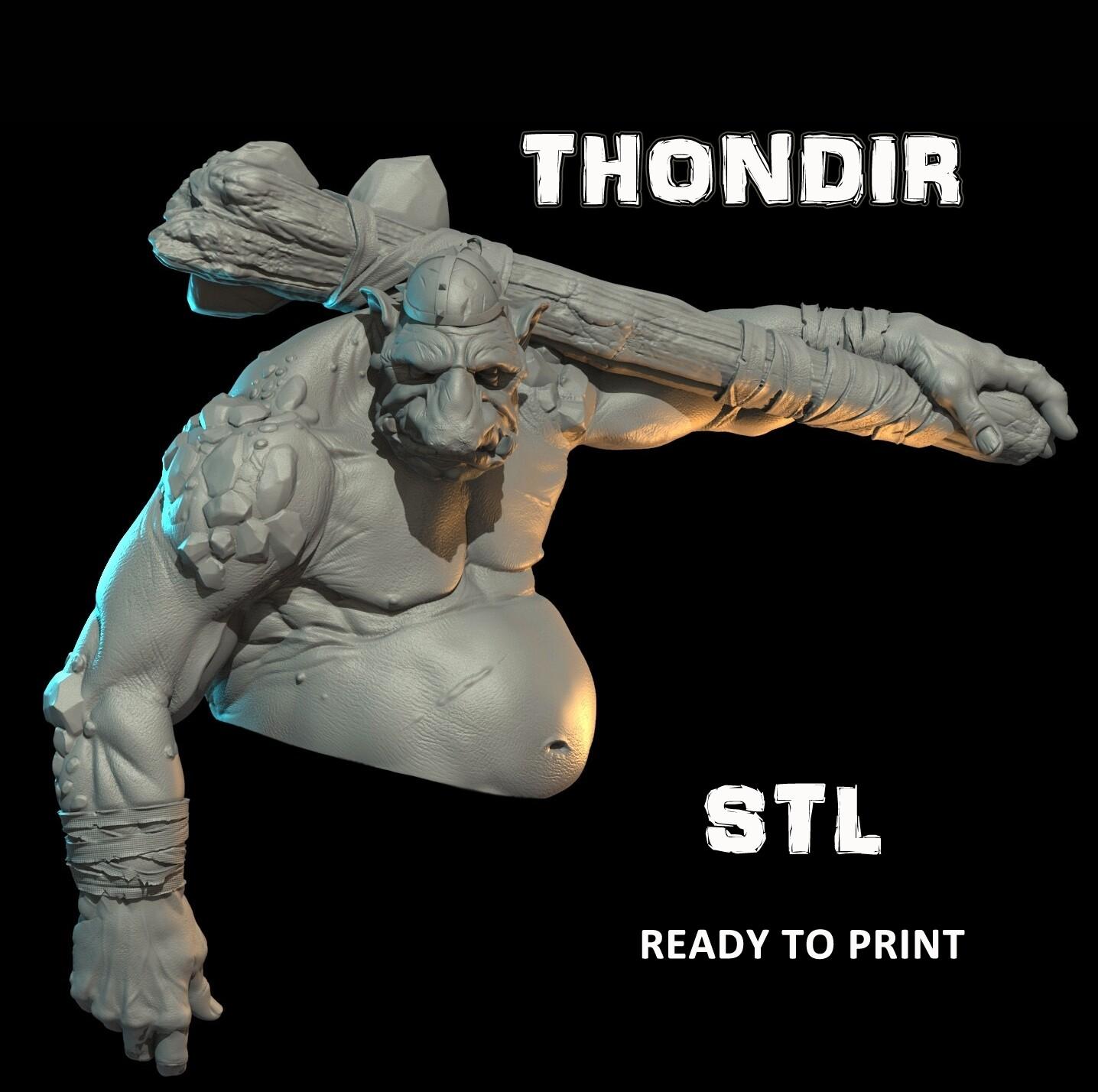 THONDIR BUST STL