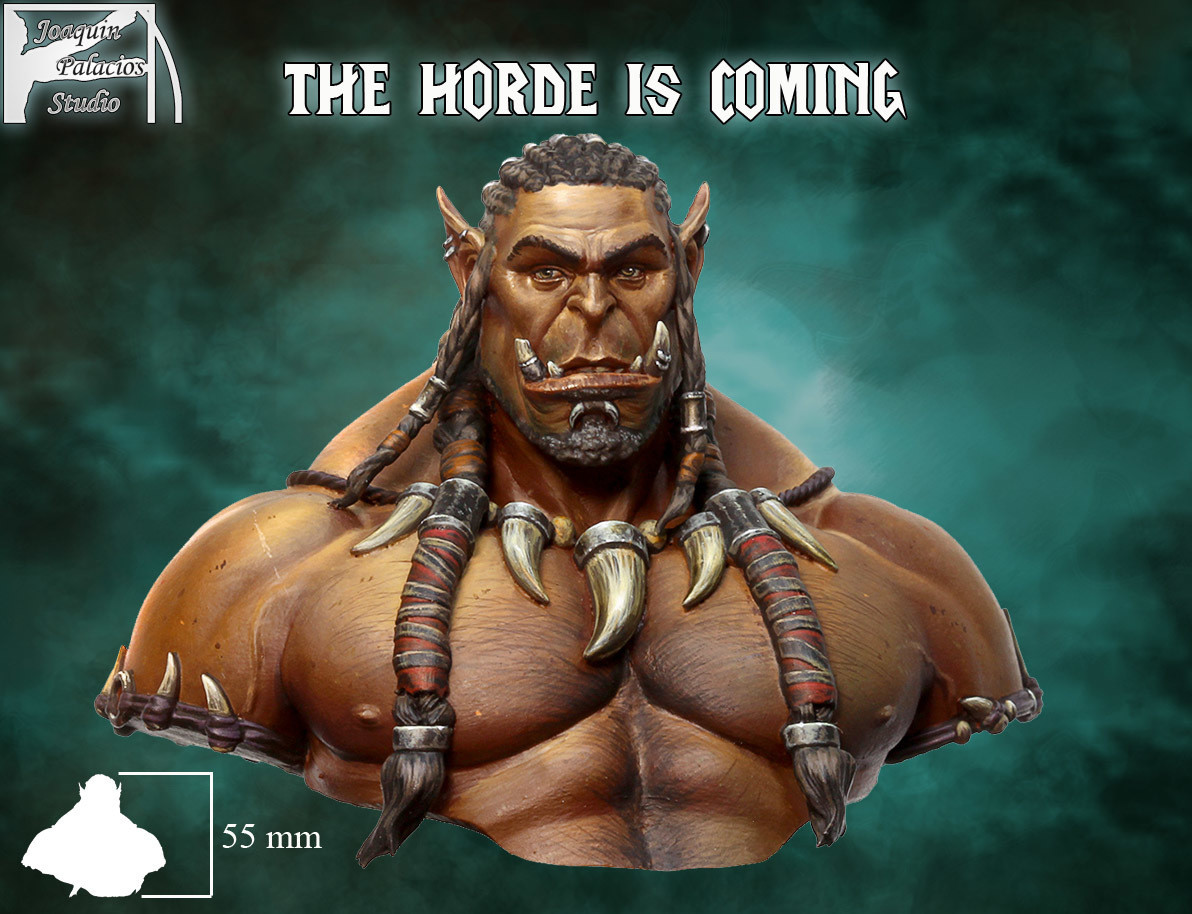 THE HORDE IS COMING