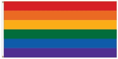 DRAPEAU LGBT / 36'' x 60''