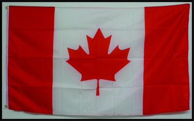 DRAPEAU DU CANADA 45'' x 90'' / CANADA FLAG 45'' x 90''