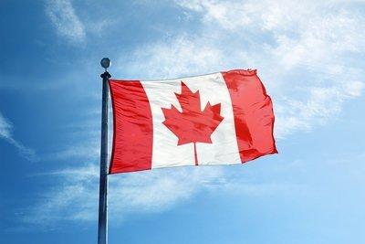 CANADA Flag made of nylon / 54'' x 108''  / (Free shipping / livraison gratuite)
