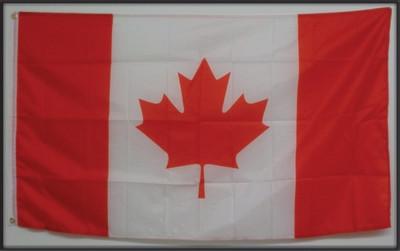 DRAPEAU DU CANADA / CANADA FLAG / (36'' X 60'')  / (livraison gratuite / Free shipping)