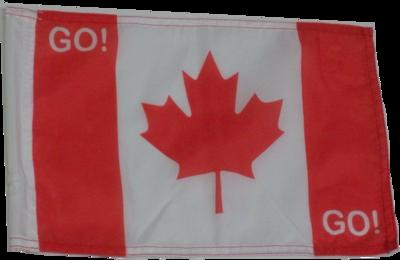 DRAPEAU DU CANADA / CANADA FLAG / 8.50'' x 14''