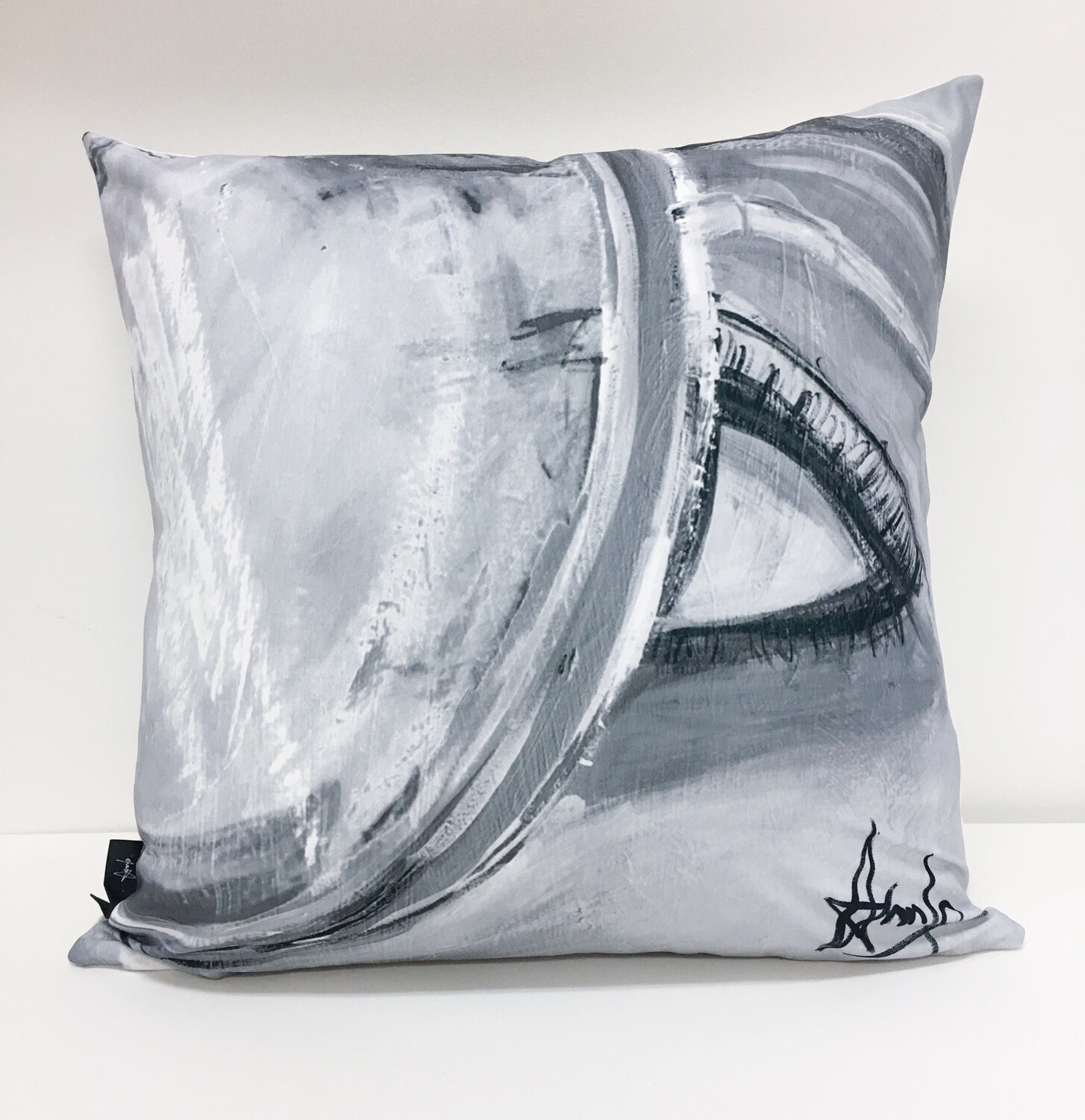 Traveling Dreamer, Abstract black & white (California Collection, limited edition)