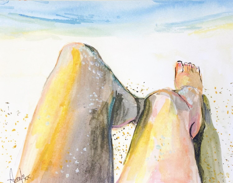 Sand on my feet