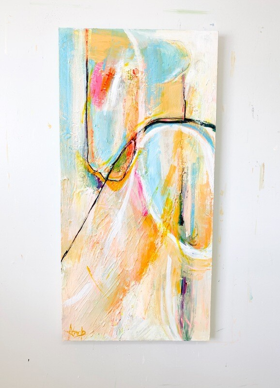 LINES OF HOPE (24'' x 48'')