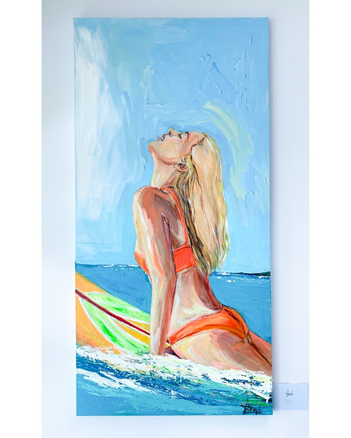 DREAMING OF SAN DIEGO. 30''x 60''  2400.00$+tx