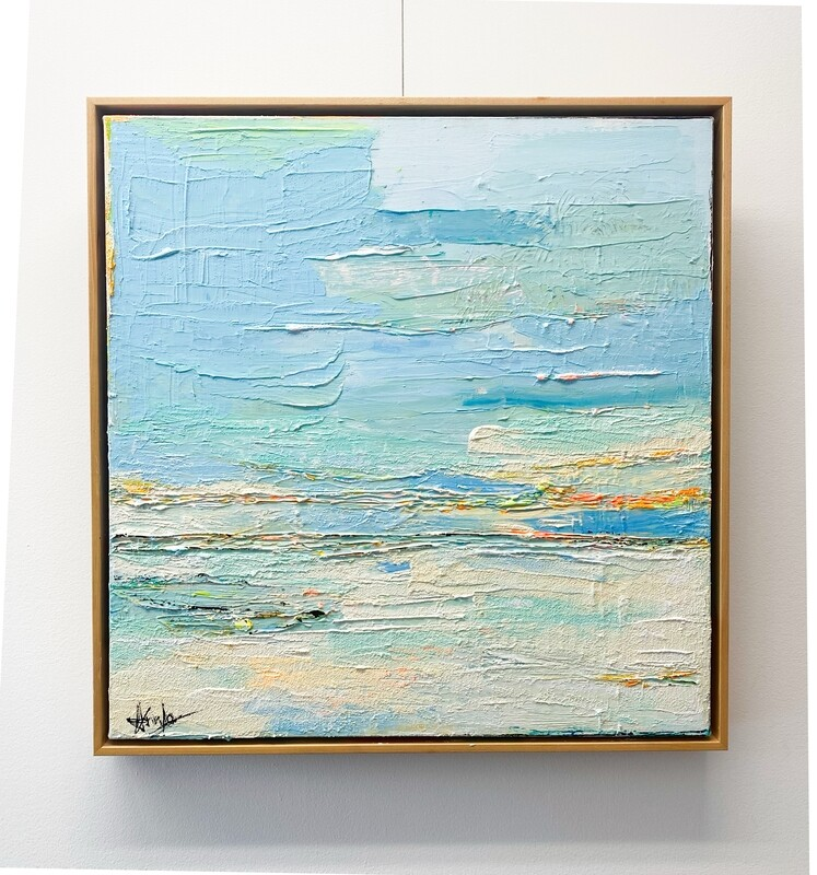 THE WATER OF HOPE  20'' x 20'' 649,99$+tx