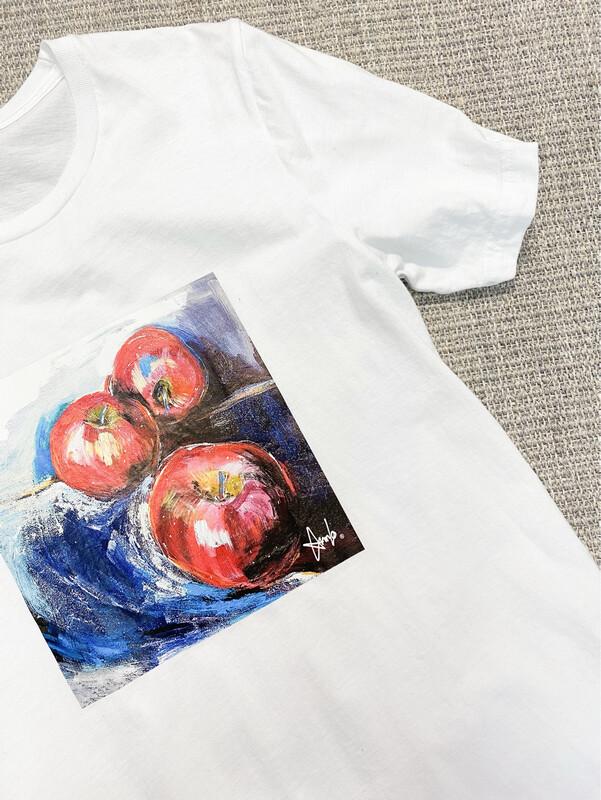 T-SHIRT BLANC FEMME  Collection spécial Club KIWANIS / ANNLO