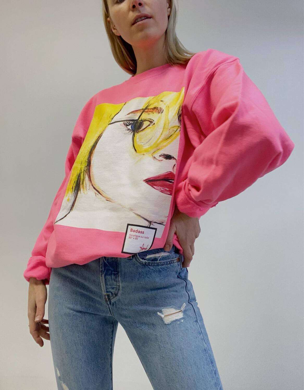 BADASS / neon pink