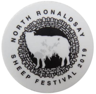 Vinyl Sticker Featuring the 2019 Logo